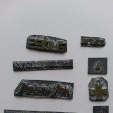 Antigüedades: PLANCHA DE IMPRENTA LOTE DE 8 PLANCHAS. Lote 47304713