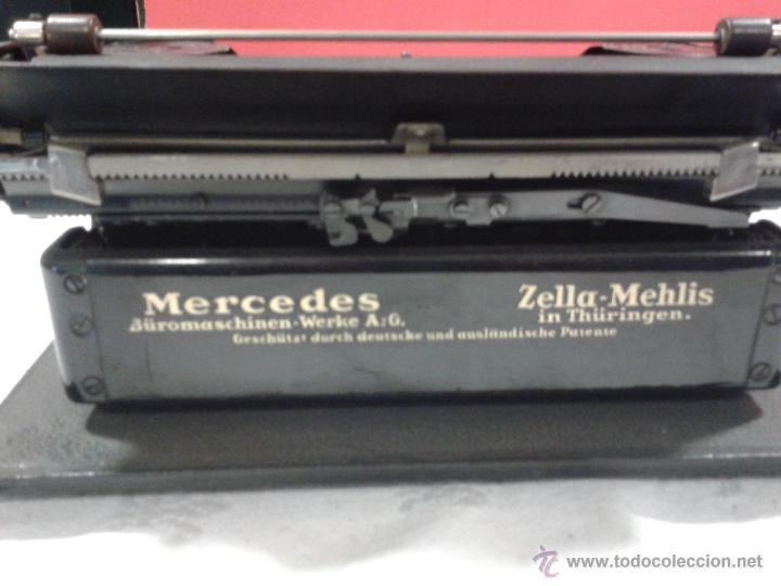 Antigüedades: Máquina de escribir MERCEDES - Foto 8 - 47307658