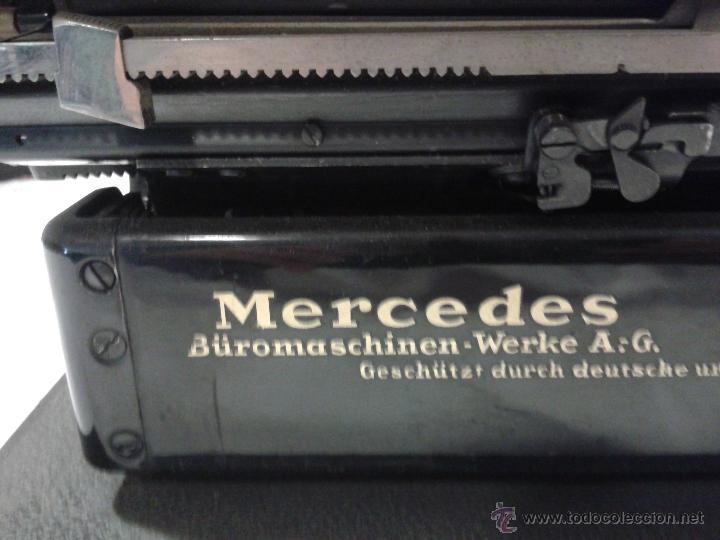 Antigüedades: Máquina de escribir MERCEDES - Foto 9 - 47307658