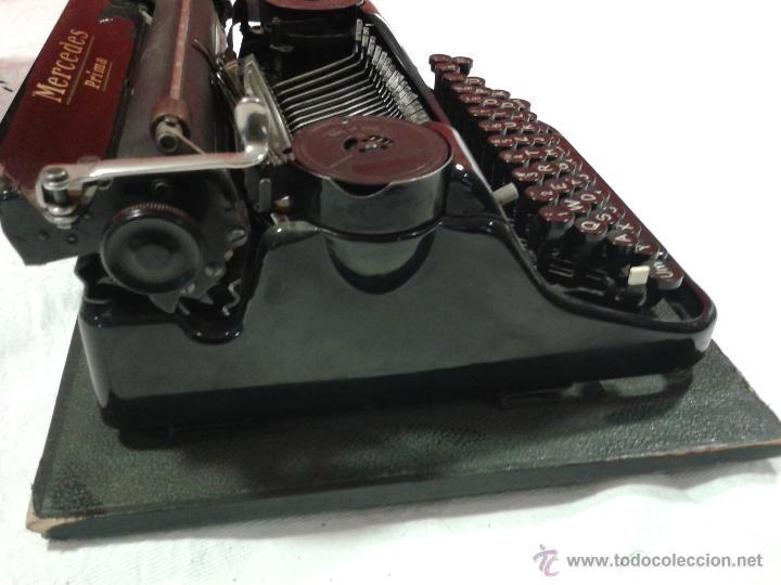 Antigüedades: Máquina de escribir MERCEDES - Foto 10 - 47307658