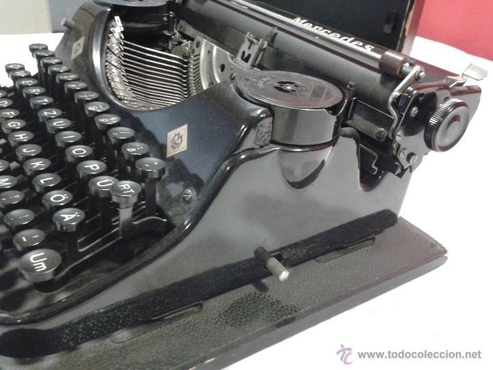 Antigüedades: Máquina de escribir MERCEDES - Foto 11 - 47307658