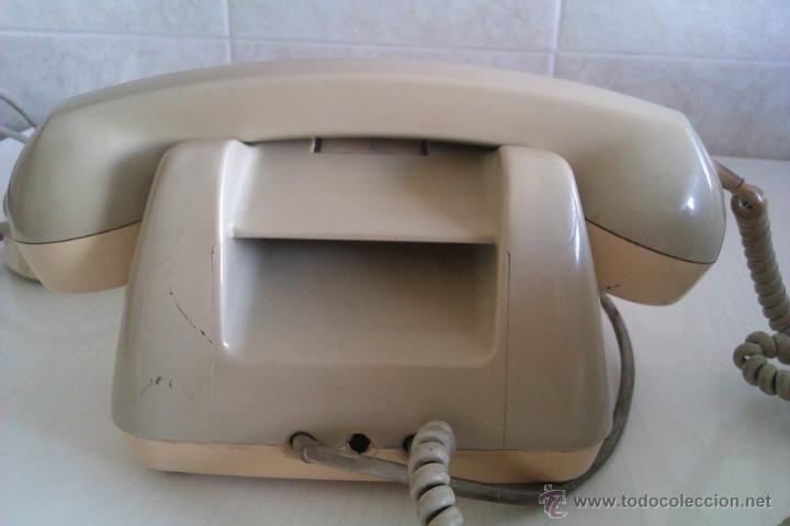 Teléfonos: ANTIGUO TELEFONO ALEMAN SIEMENS FG 54/5143B ALEMANIA BOCHOLT PRINCIPIOS DE LOS AÑOS 60 - Foto 4 - 47350506