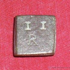 Antigüedades: PONDERAL DE 2 REALES. Lote 47395755