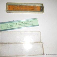 Antigüedades: LOTE ANTIGUO DE 2 REGLAS AÑOS 60-70. Lote 47438805