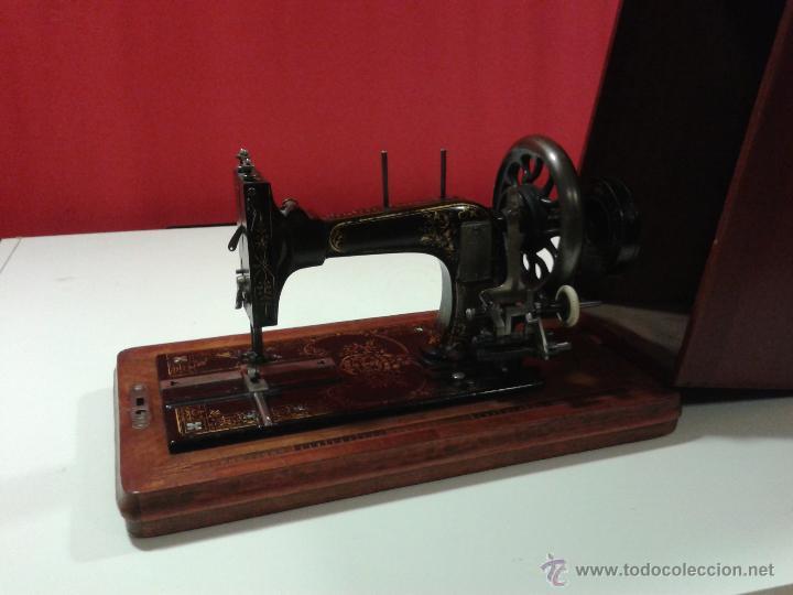MÁQUINA DE COSER FRISTER&ROSSMANN (Antigüedades - Técnicas - Máquinas de Coser Antiguas - Frister & Rossmann)