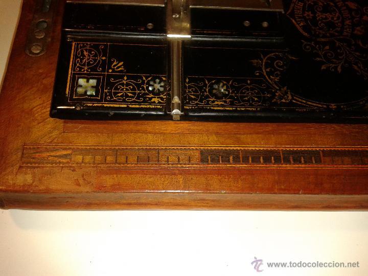 Antigüedades: Máquina de coser Frister&Rossmann - Foto 3 - 47473542