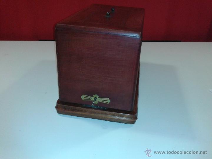 Antigüedades: Máquina de coser Frister&Rossmann - Foto 4 - 47473542