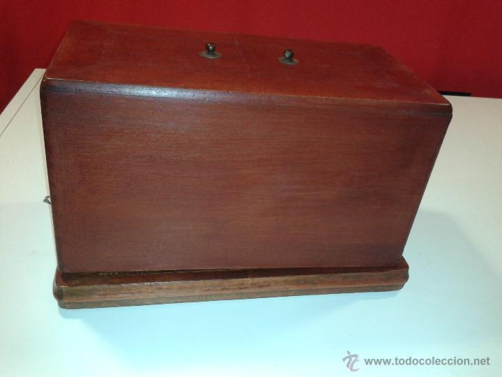 Antigüedades: Máquina de coser Frister&Rossmann - Foto 5 - 47473542