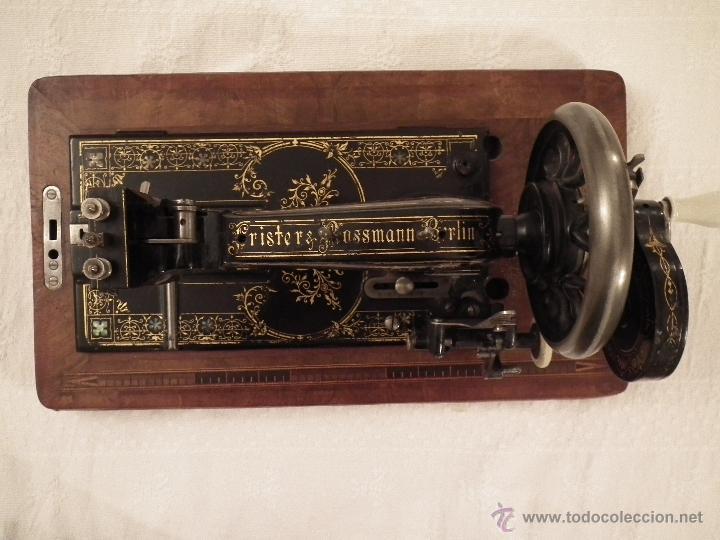 Antigüedades: Máquina de coser Frister&Rossmann - Foto 10 - 47473542