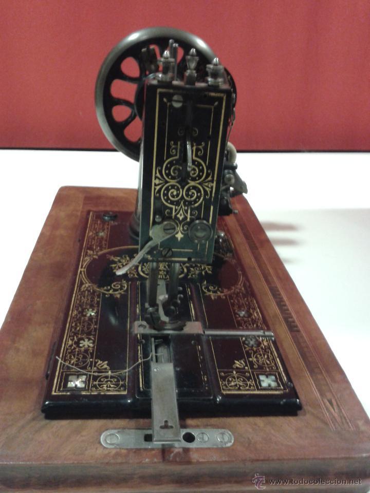 Antigüedades: Máquina de coser Frister&Rossmann - Foto 11 - 47473542