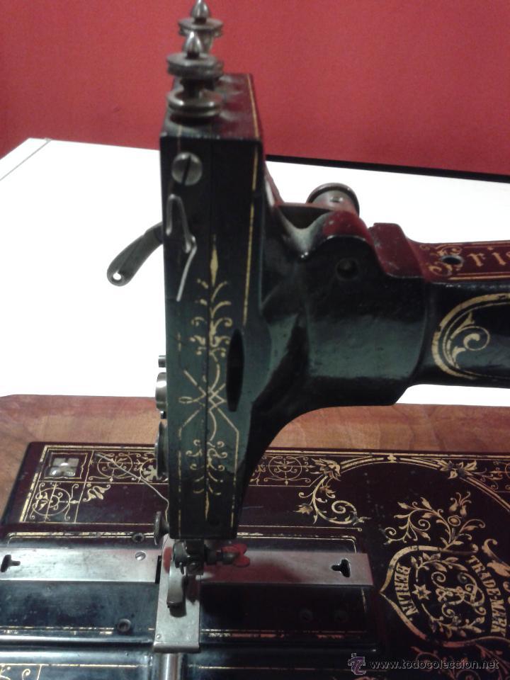 Antigüedades: Máquina de coser Frister&Rossmann - Foto 12 - 47473542