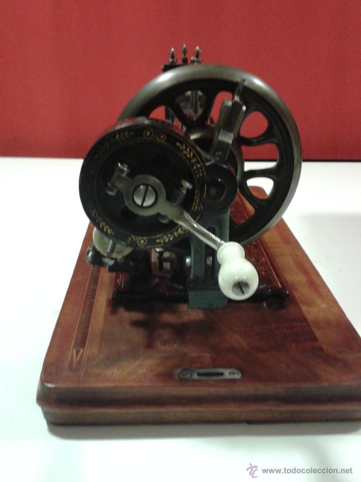 Antigüedades: Máquina de coser Frister&Rossmann - Foto 13 - 47473542