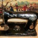 Antigüedades: CABEZAL DE MAQUINA DE COSER SINGER. Lote 47478079