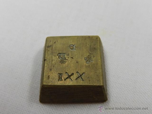 Antigüedades: Balanza pesa monedas. Siglos XVII / XVIII. - Foto 7 - 47494966