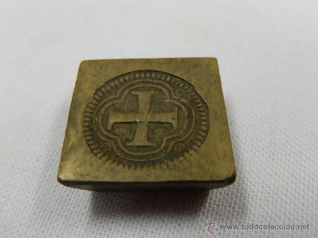 Antigüedades: Balanza pesa monedas. Siglos XVII / XVIII. - Foto 8 - 47494966