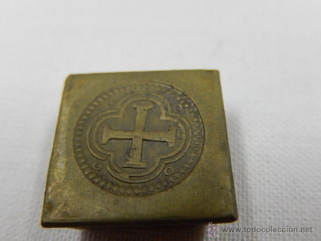 Antigüedades: Balanza pesa monedas. Siglos XVII / XVIII. - Foto 12 - 47494966