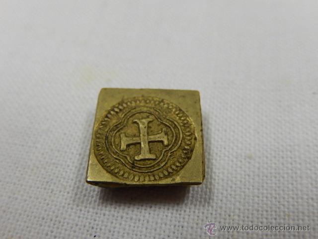 Antigüedades: Balanza pesa monedas. Siglos XVII / XVIII. - Foto 14 - 47494966
