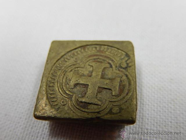 Antigüedades: Balanza pesa monedas. Siglos XVII / XVIII. - Foto 16 - 47494966
