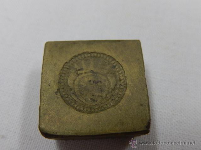 Antigüedades: Balanza pesa monedas. Siglos XVII / XVIII. - Foto 20 - 47494966