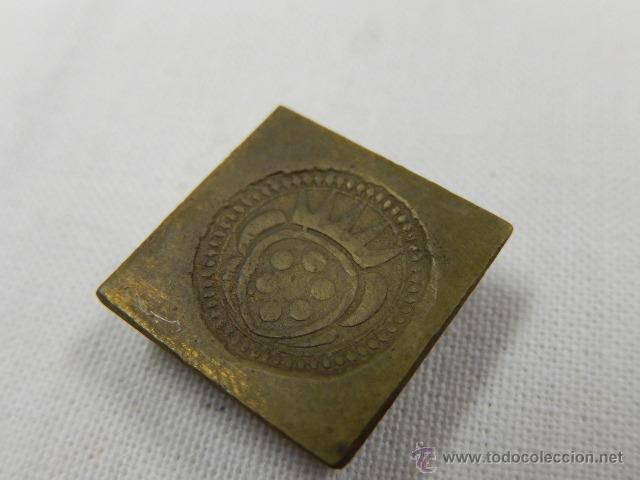 Antigüedades: Balanza pesa monedas. Siglos XVII / XVIII. - Foto 22 - 47494966