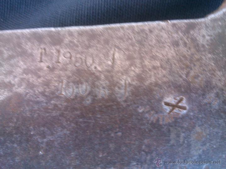 Antigüedades: BALANZA PESO ROMANA 100KG.ORIGINAL,MARCADA,SOVIETICA.AÑO1950 - Foto 17 - 47512624