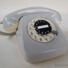 Teléfonos: TELEFONO HERALDO GRIS AÑOS 70 FABRICADO POR SIEMENS, 100% ORIGINAL. ADAPTADO A FIBRA ÓPTICA.. Lote 68657403