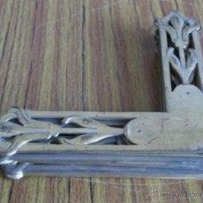 Antigüedades: TRECE ÁNGULOS -- DE LATÓN . Lote 47629893