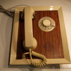 Teléfonos: TELÉFONO ANTIGUO DE PARED CTNE FABRICADO POR CITESA-MÁLAGA EN PERFECTO ESTADO FUNCIONA. Lote 47638106