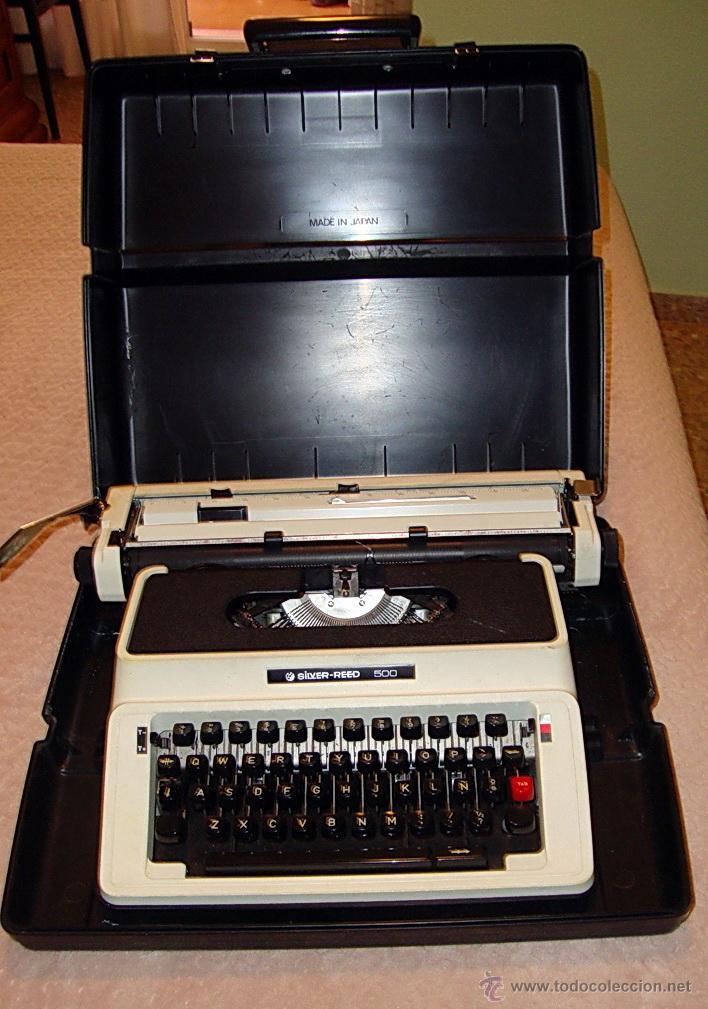 MAQUINA ESCRIBIR SILVER REED AÑOS 70 (Antigüedades - Técnicas - Máquinas de Escribir Antiguas - Otras)