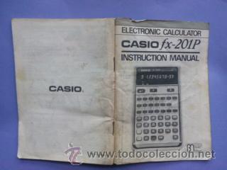 Casio fx-201p