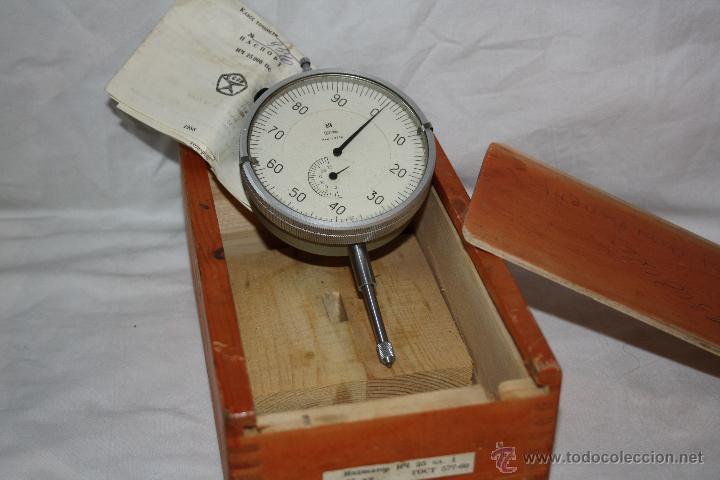 Reloj Comparador Tipo Herramienta Micrómetro DiámetroAño Precisión Cm 8 De En 5 1968 OnwPkN08X