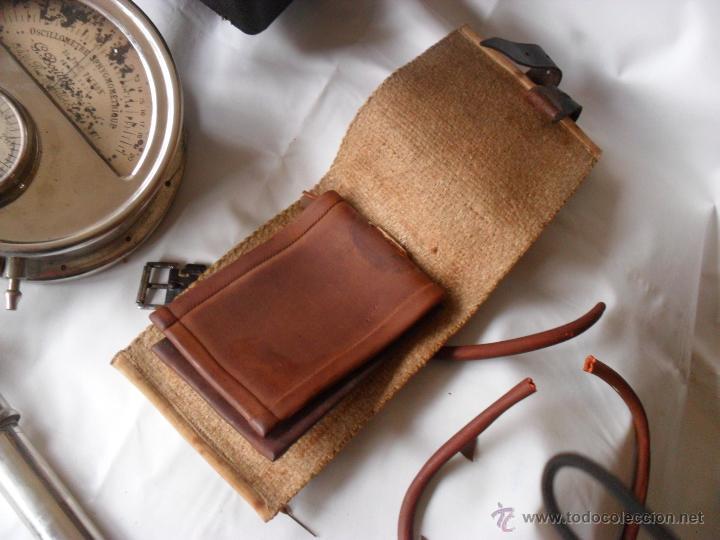 Antigüedades: tensiometro,oscilometro antiguo,principio siglo pasado,con bomba en lugar de perilla - Foto 9 - 47860342