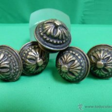 Antigüedades: TIRADORES DE BRONCE ANTIGUOS. Lote 47870173