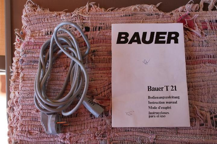 Antigüedades: PROYECTOR BAUER T 21 - Foto 4 - 47881017