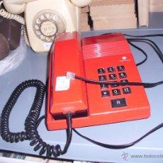 Teléfonos: TELEFONO DE MESA ROJO. LINEA TEIDE. CTNE SESA ¡¡FUNCIONANDO!!. Lote 47880196
