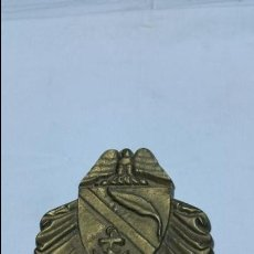 Antigüedades: PLACA DE BRONCE ANTIGUO USS JOSEPHUS DANIELS CS 27 AÑOS 40 O 50. Lote 47898112