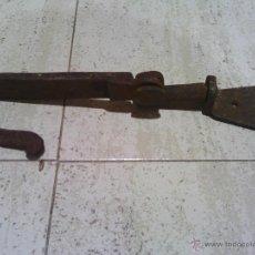 Antigüedades - gancho de forja para puerta - 47917606