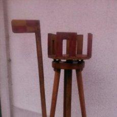 Antigüedades: ALIDADA DE PINULAS DE TOPOGRAFIA. Lote 47932324
