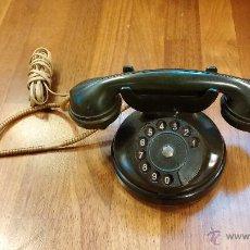 Teléfonos: TELÉFONO ANTIGUO , BAQUE LITA , COLOR VERDE , INUSUAL , AÑOS 40 .. Lote 47936705