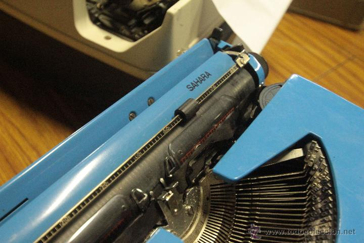 Antigüedades: Maquina de escribir ROYAL - SAHARA - Foto 4 - 47964770