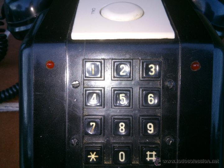 Teléfonos: Teléfono antiguo de Baquelita con Manivela. - Foto 2 - 48007915