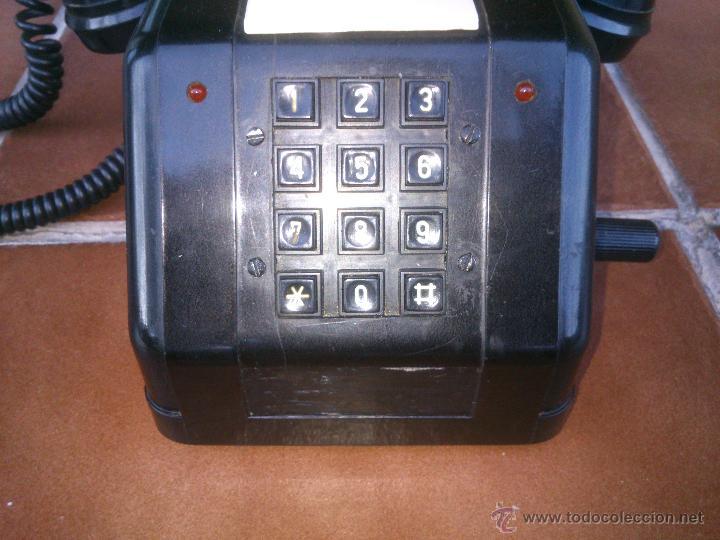 Teléfonos: Teléfono antiguo de Baquelita con Manivela. - Foto 3 - 48007915