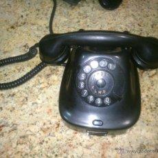 Teléfonos: TELÉFONO ANTIGUO DE BAQUELITA 1964.. Lote 48061074