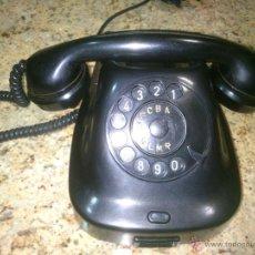 Teléfonos: TELÉFONO ANTIGUO DE BAQUELITA 1965.. Lote 48061141