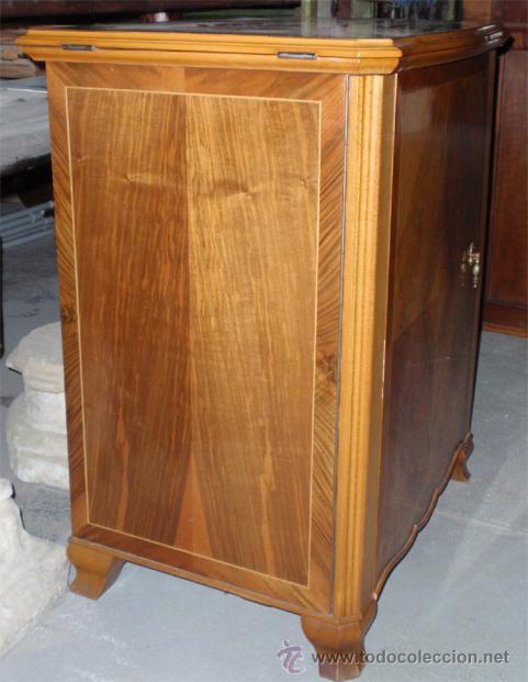 Antigüedades: Maquina de coser Sigma con mueble. Muy buen estado. Funciona. Estarta y ecenarro. - Foto 3 - 48097289