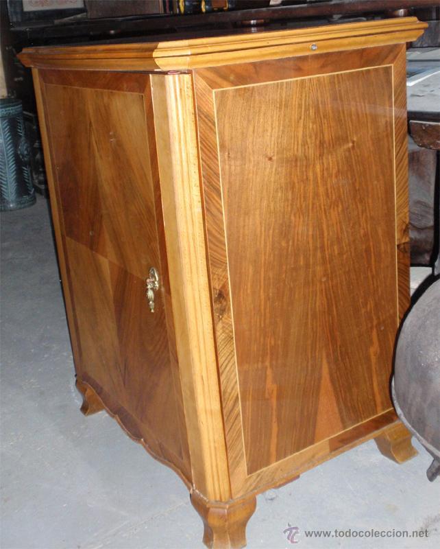 Antigüedades: Maquina de coser Sigma con mueble. Muy buen estado. Funciona. Estarta y ecenarro. - Foto 4 - 48097289