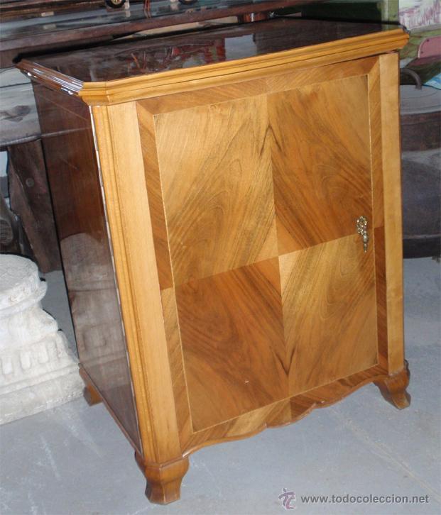 Antigüedades: Maquina de coser Sigma con mueble. Muy buen estado. Funciona. Estarta y ecenarro. - Foto 5 - 48097289