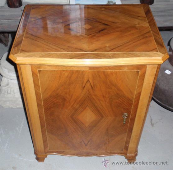 Antigüedades: Maquina de coser Sigma con mueble. Muy buen estado. Funciona. Estarta y ecenarro. - Foto 6 - 48097289