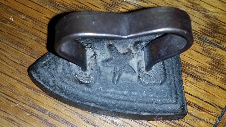MINIATURA DE PLANCHA (Antigüedades - Técnicas - Planchas Antiguas - Hierro)
