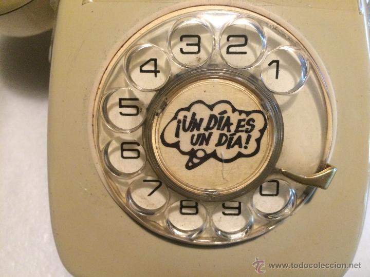 Teléfonos: antiguo Telefono de rueda años 50-60 - Foto 4 - 48107333